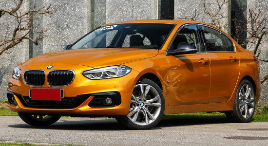 BMW 1-Series Sedan на IronHorse.ru ©