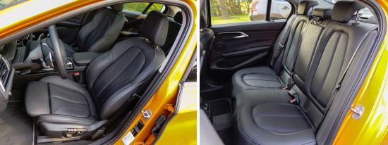 интерьер салона BMW 1-Series Sedan F52