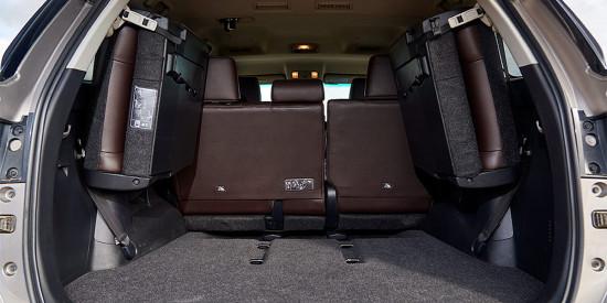 багажное отделение Toyota Fortuner 2