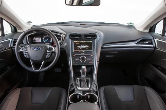 интерьер Ford Mondeo Mk 5