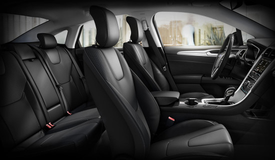 в салоне Ford Mondeo Mk 5