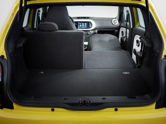 багажное отделение Renault Twingo 3
