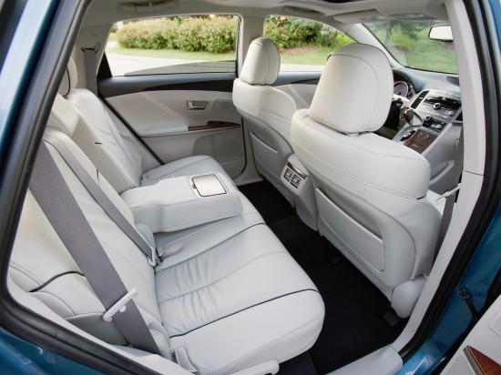 интерьер салона Toyota Venza 2008-2012