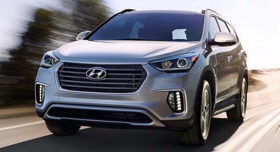 Hyundai Grand Santa Fe (2012-2018) на IronHorse.ru ©