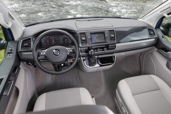 передняя панель VW California T6