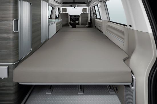 интерьер салона Volkswagen California T6