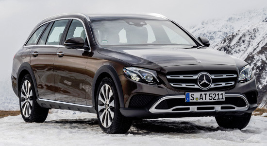 Mercedes-Benz E-Class All-Terrain (2018-2019) на IronHorse.ru ©