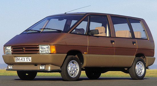 Renault Espace 1 (1984-1991) на IronHorse.ru ©