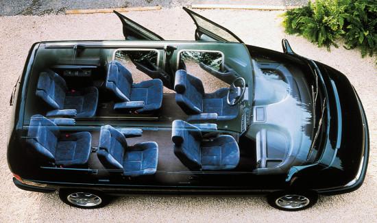 интерьер салона Renault Espace 2 (1991-1997)