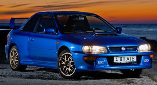 купе Subaru Impreza 1 WRX