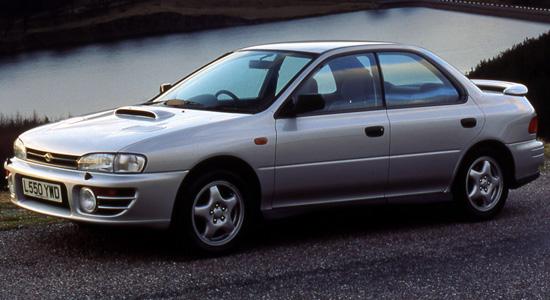 седан Subaru Impreza 1 WRX