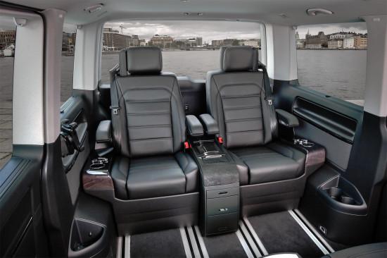 интерьер салона Volkswagen Multivan Business T6