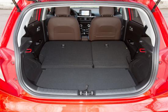 багажное отделение KIA Picanto 3