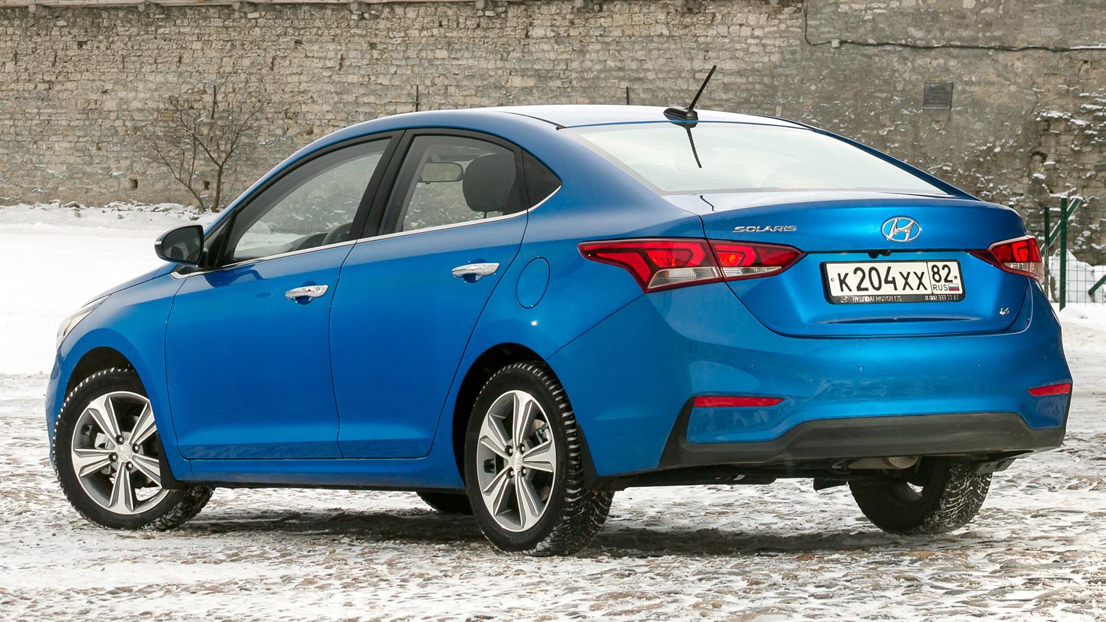 Hyundai Solaris 2 (2019-2020) цена и характеристики ...