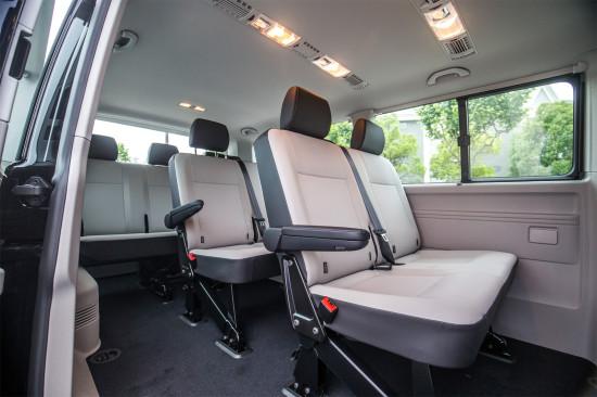 интерьер салона VW Caravelle LWB T6