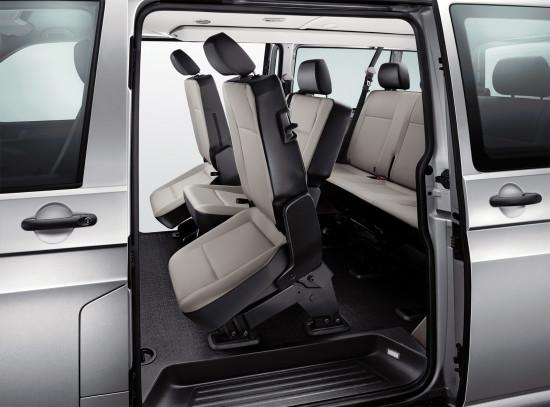 интерьер салона VW Caravelle T6