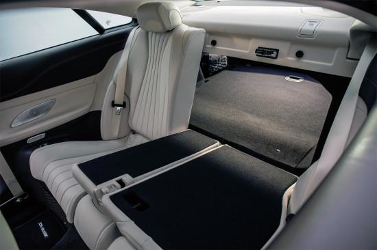 багажное отделение Mercedes-Benz E-class C238
