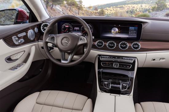 интерьер салона Mercedes-Benz E-class C238