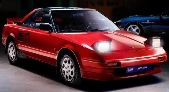 Toyota MR2 (W10, 1984-1989) на IronHorse.ru ©