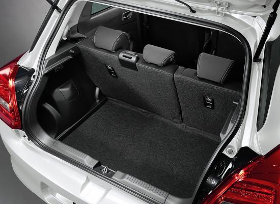 багажное отделение Suzuki Swift 4