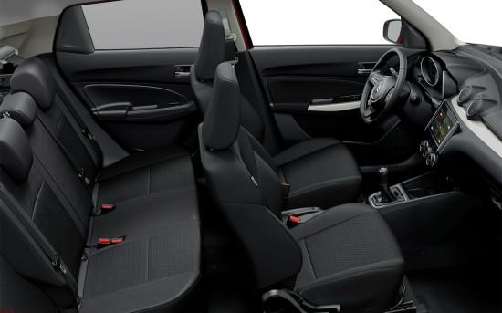 интерьер салона Suzuki Swift 4