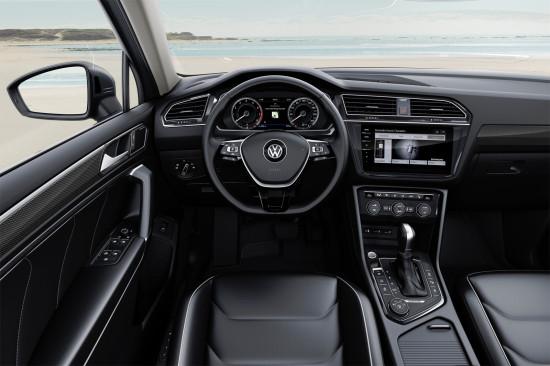 интерьер салона VW Tiguan Allspace