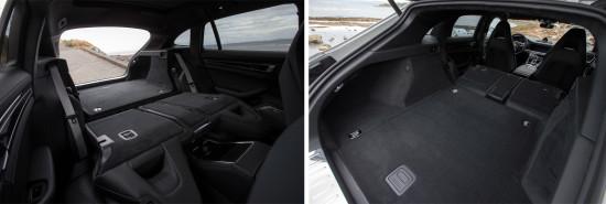 багажное отделение Porsche Panamera Sport Turismo