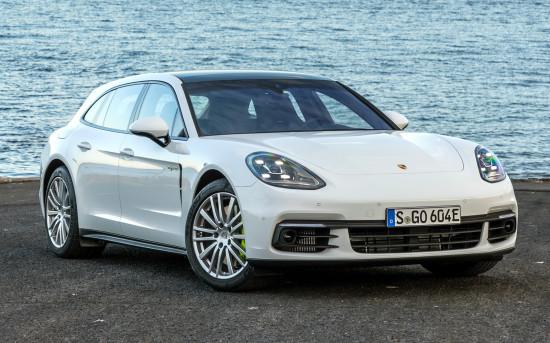 Porsche Panamera Sport Turismo - цена и характеристики, фотографии и обзор