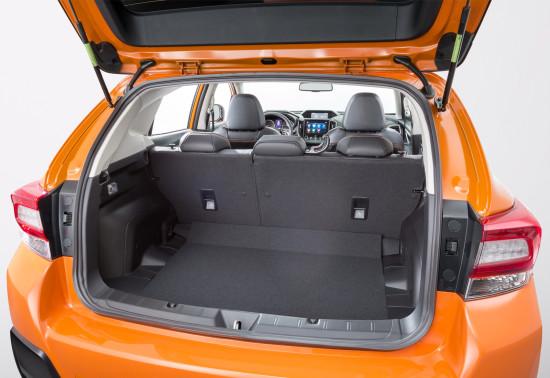 багажное отделение Subaru XV II