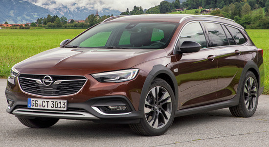 Opel Insignia Country Tourer (2017-2018) на IronHorse.ru ©
