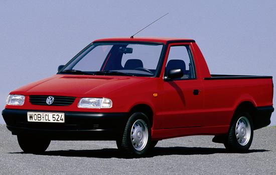 пикап VW Caddy II (Typ 9U)
