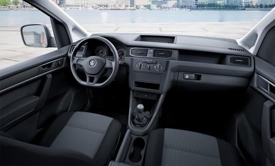 интерьер VW Caddy 4 Kasten