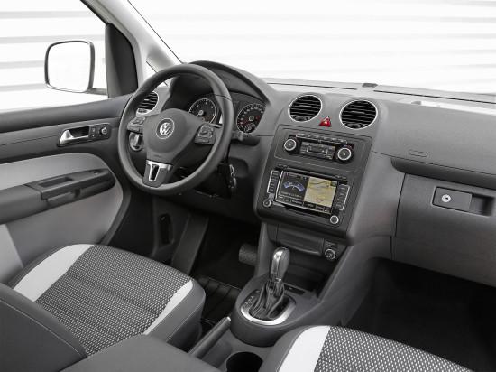 интерьер VW CrossCaddy