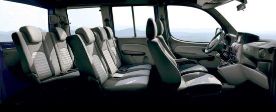 интерьер салона Fiat Doblo 1 Panorama