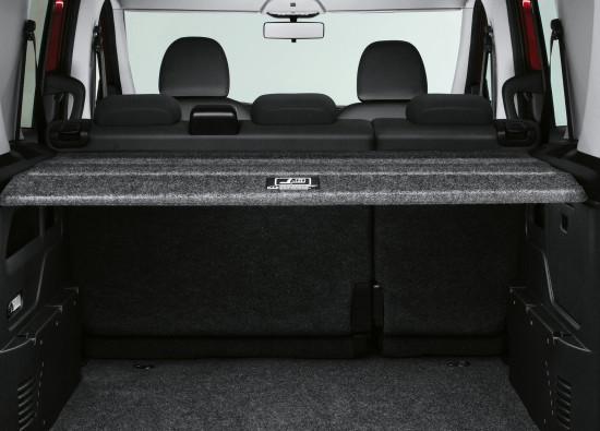 багажное отделение Fiat Doblo 2 Panorama