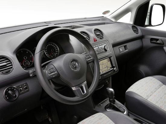 интерьер VW Caddy 3 Kasten