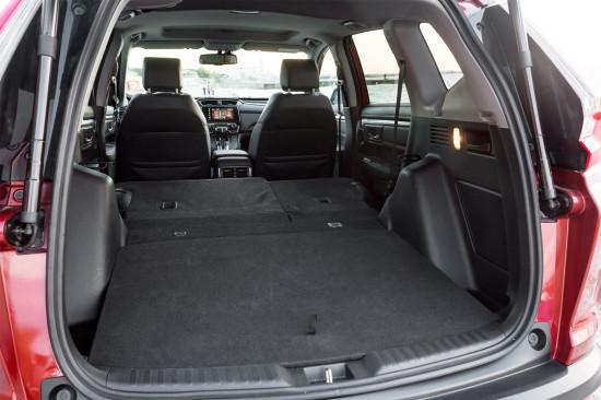 багажный отсек Honda CR-V 5