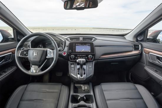 интерьер салона Honda CR-V 5