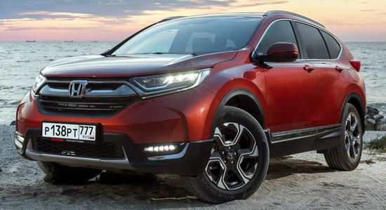 Honda CR-V 5 (2018-2019) на IronHorse.ru ©