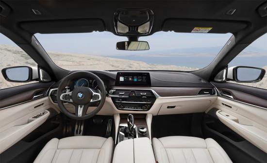 интерьер салона BMW 6-series GT (G32)
