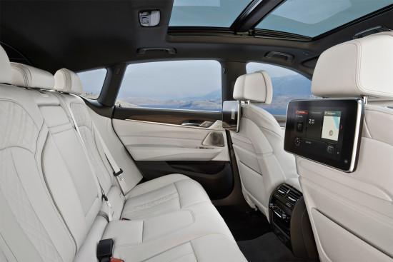задний диван BMW 6 GT (G32)