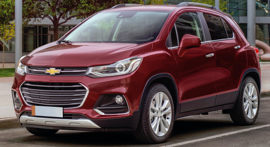 Chevrolet Tracker (2017-2018) на IronHorse.ru ©