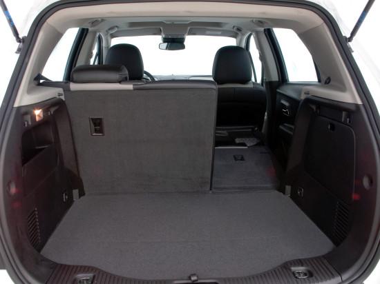 багажное отделение Chevrolet Tracker