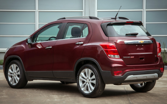 Chevrolet Tracker 2017-2018
