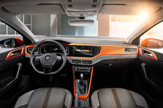 интерьер салона Volkswagen Polo 6