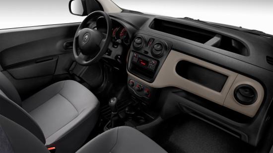 интерьер салона Renault Dokker Van