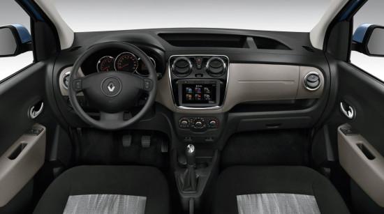 передняя панель и центральная консоль Renault Dokker
