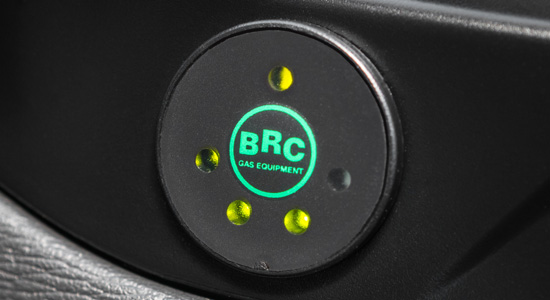 кнопка переключения газ/бензин