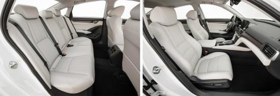 интерьер салона Honda Accord 10