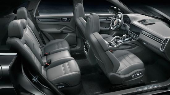 интерьер салона Porsche Cayenne S 3